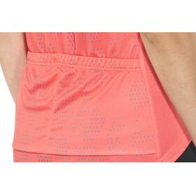Odlo Fujin Print Stand-Up Collar SS Full Zip Shirt Women dubarry-crystal teal